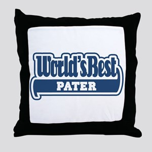 WB Dad [Latin] Throw Pillow